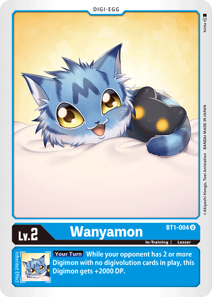 BT1-004Wanyamon