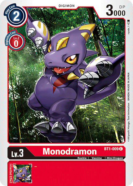 BT1-009Monodramon
