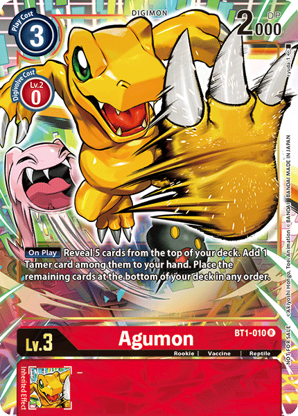 BT1-010Agumon