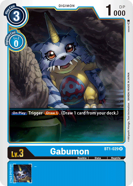 BT1-029Gabumon