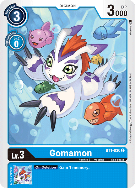 BT1-030Gomamon