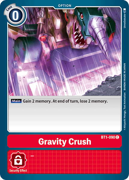 BT1-090Gravity Crush