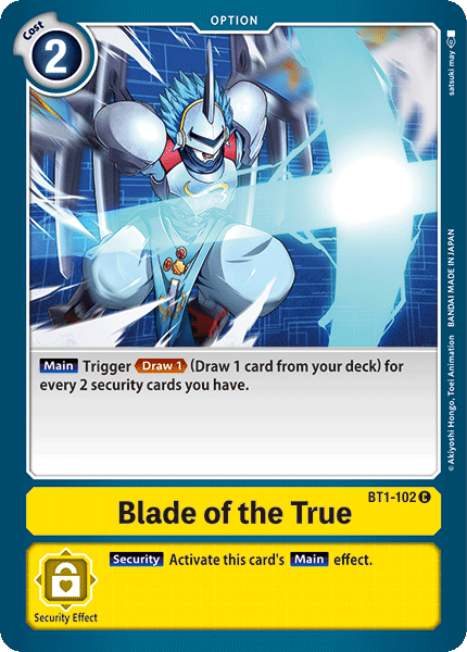 BT1-102Blade of the True
