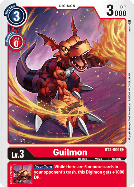 BT2-009Guilmon