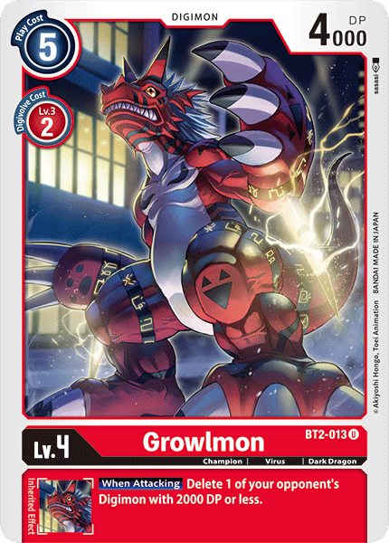 BT2-013Growlmon
