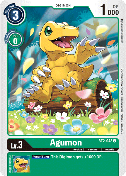BT2-043Agumon