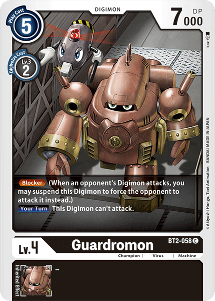 BT2-058Guardromon