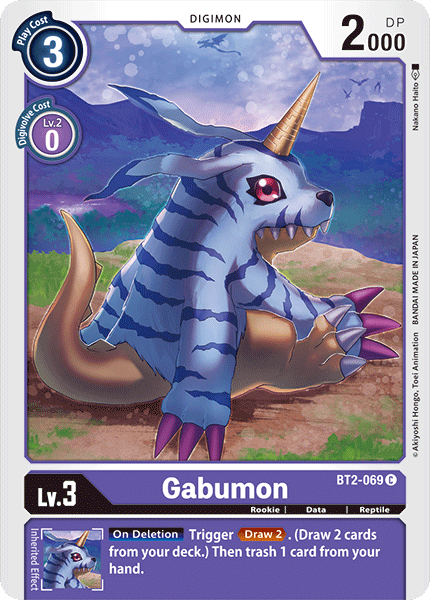 BT2-069Gabumon
