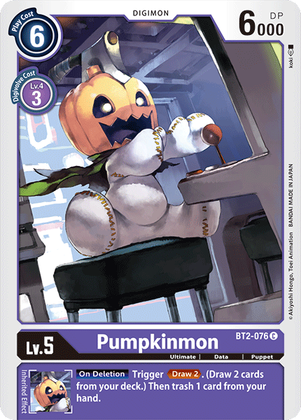 BT2-076Pumpkinmon