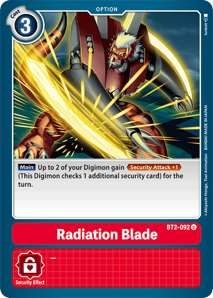 BT2-092Radiation Blade