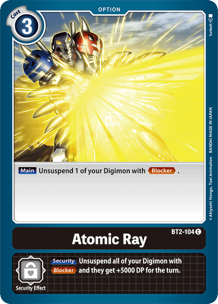 BT2-104Atomic Ray