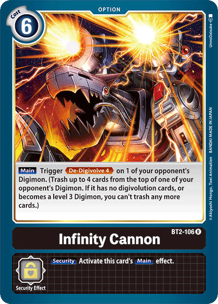 BT2-106Infinity Cannon