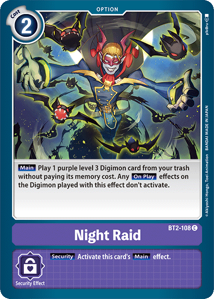 BT2-108Night Raid