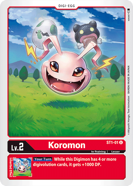 ST1-01Koromon