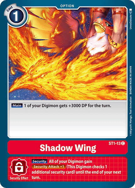 ST1-13Shadow Wing