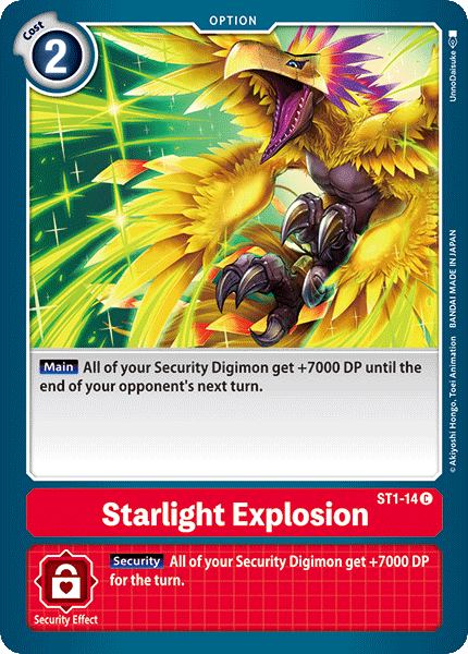 ST1-14Starlight Explosion
