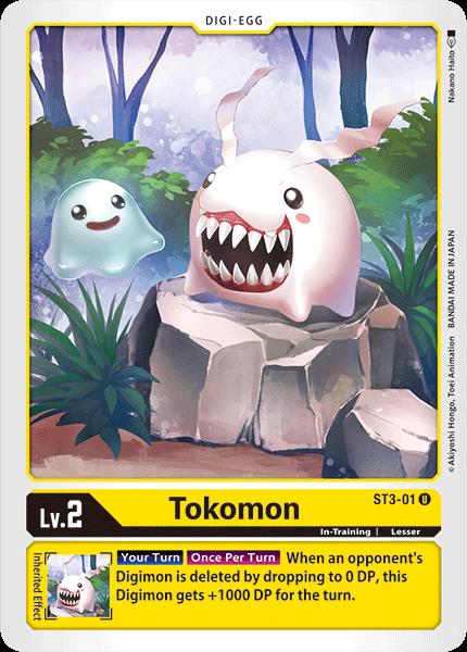 ST3-01Tokomon