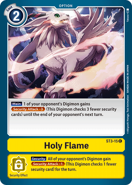 ST3-15Holy Flame