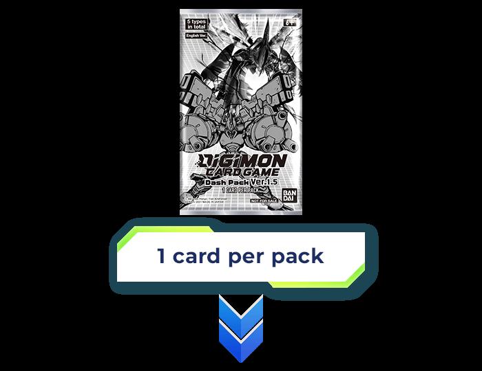 1 card per pack